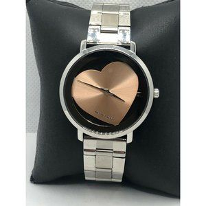Michael Kors MK3620 Womens Silver Stainless Steel